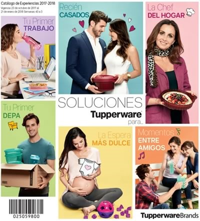 catalogo tupperware experiencias 2017-2018
