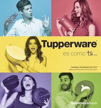 catalogo tupperware experiencias vigente hasta 16 abril 2017