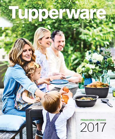 catalogo tupperware primavera verano 2017 espana