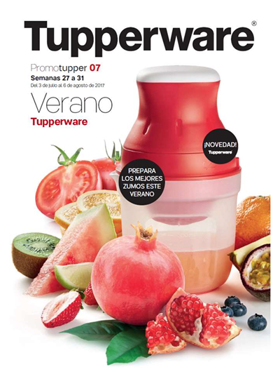catalogo tupperware promotupper 07 de 2017 espana