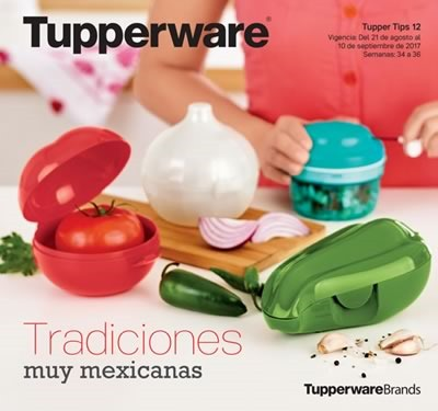catalogo tupperware tupper tips 12 de 2017 mexico