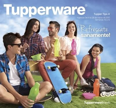 catalogo tupperware tuppertips 4 de 2017 mexico