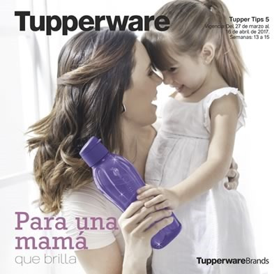 catalogo tupperware tuppertips 5 de 2017 mexico