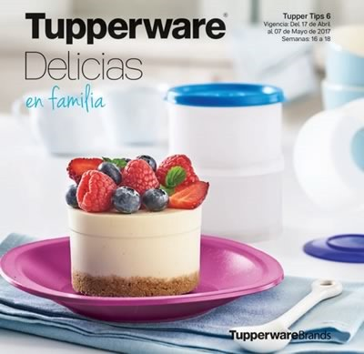catalogo tupperware tuppertips 6 de 2017 mexico