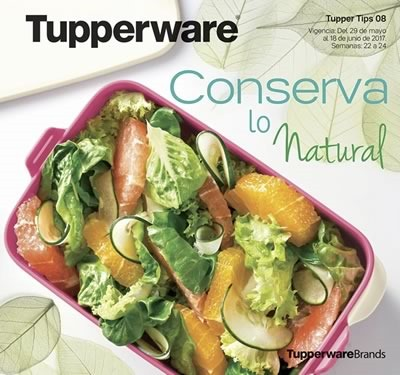 catalogo tupperware tuppertips 8 de 2017 mexico