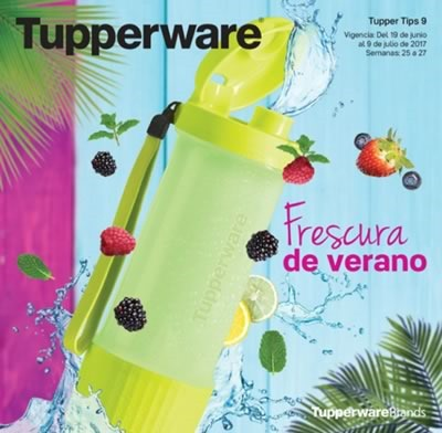 catalogo tupperware tuppertips 9 de 2017 mexico