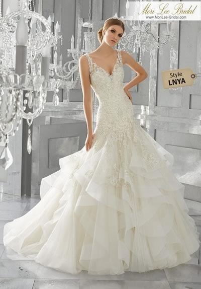 catálogo de vestidos de novia 2017 mori lee bridal colección bridal