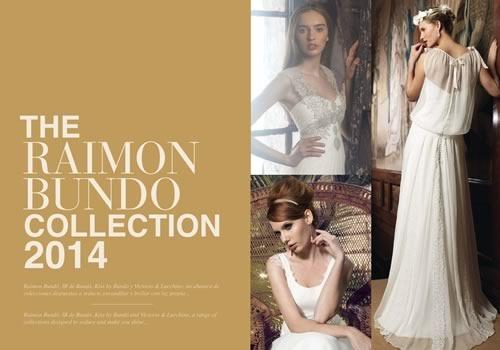 catalogo vestidos de novias 2014 - raimond bundo