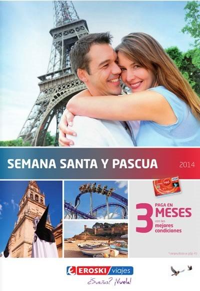 catalogo viajes semana santa 2014 eroski