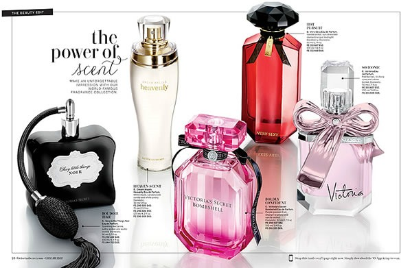 catalogo victoria secret spring fashion 2014 perfumes