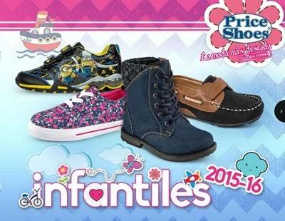 catalogo virtual price shoes calzado infantil 2015 16
