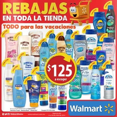 catalogo walmart abril 2014 mexico