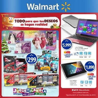 catalogo walmart diciembre 2013 mexico
