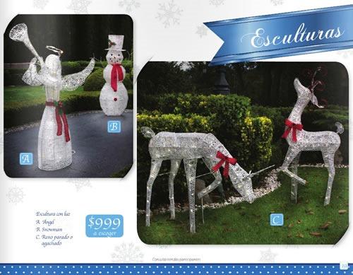 catalogo walmart especial decoracion navidad 2013 mexico 1