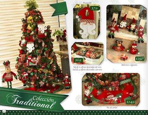 catalogo walmart especial decoracion navidad 2013 mexico 7