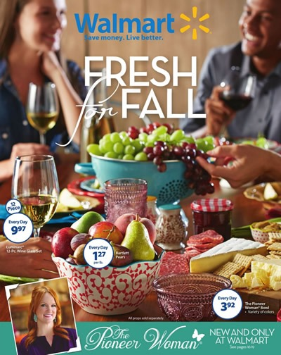 catalogo walmart fresh for fall noviembre 2015