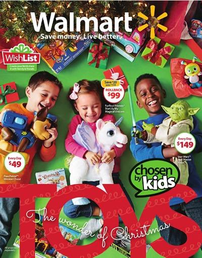 catalogo walmart juguetes navidad 2015