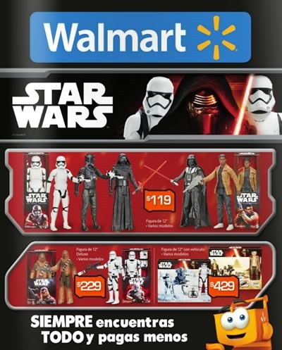 catalogo walmart juguetes star wars 2015