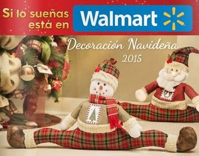 catalogo walmart mexico decoracion navidad 2015