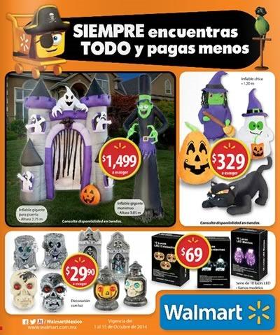 catalogo walmart mexico halloween 2014