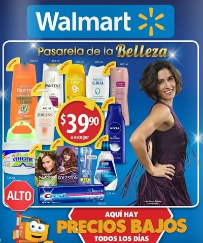 catalogo walmart pasarela de la belleza octubre 2015