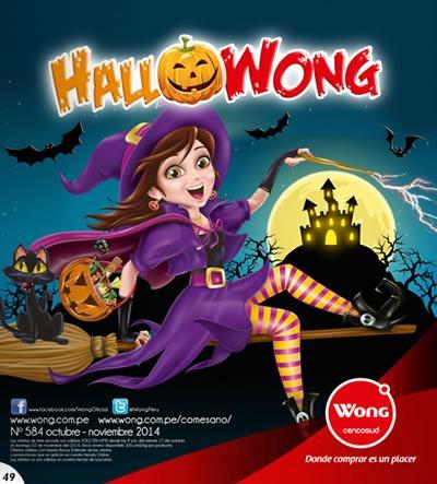 catalogo wong halloween 2014