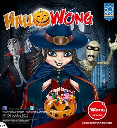 catalogo wong ofertas halloween octubre 2013 peru