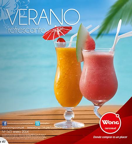 catalogo wong verano refrescante enero 2014