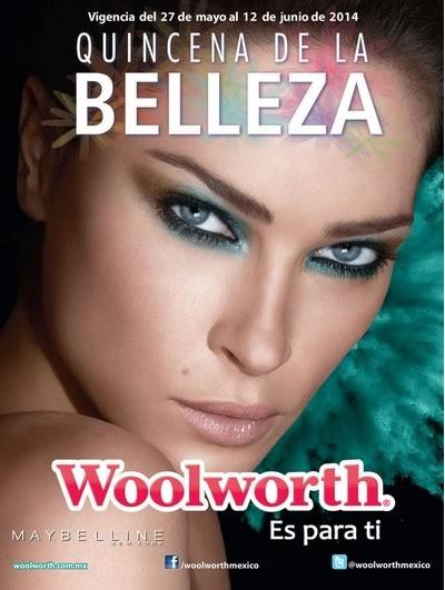 catalogo woolworth quincena belleza junio 2014