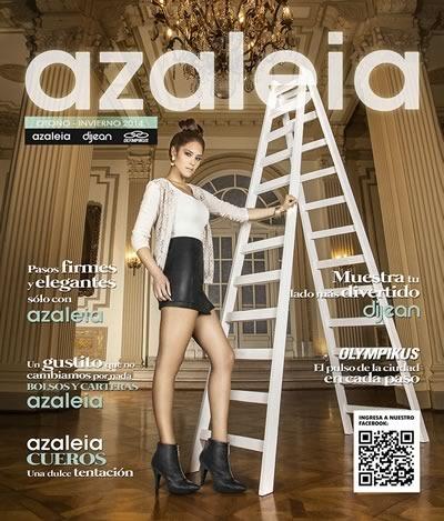 catalogo zapatos azaleia tendencias moda otono invierno 2014