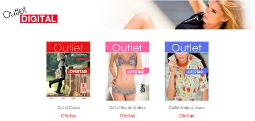 catalogos andrea outlet digital noviembre 2013 estados unidos