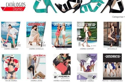 catalogos andrea verano 2014 - miniportadas