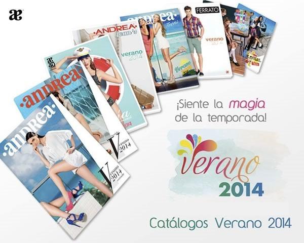 Catálogos Andrea Primavera Verano 2014