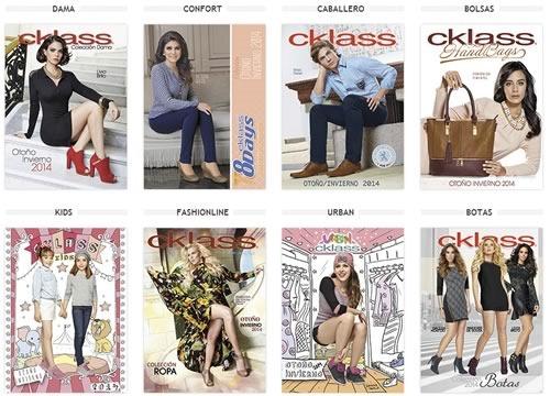 catalogos cklass otono invierno 2014