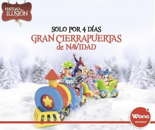 cierra puertas navidad wong 20 a 23 nov 2014