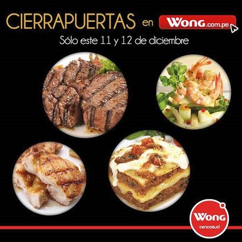 cierra puertas wong 11 12 diciembre 2013