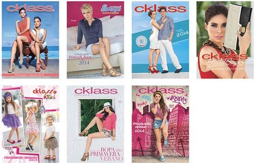 Catálogos Cklass Primavera Verano 2014