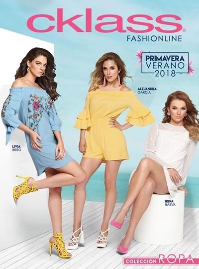 cklass fashionline primavera verano 2018