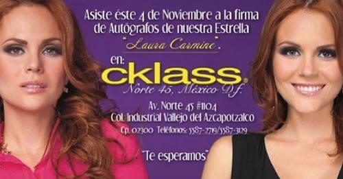 cklass firma autografos laura carmine 4 noviembre 2013