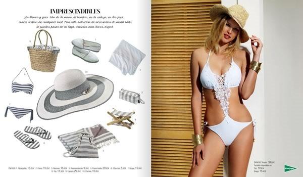 coleccion de bikinis tankinis trajes de bano banadores el corte ingles 2015 - 01