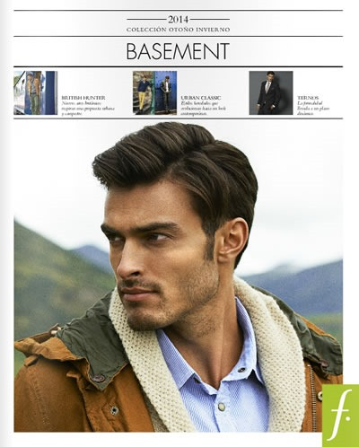 coleccion ropa basement otono invierno 2014