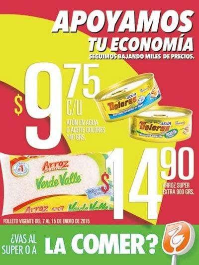 comercial mexicana ofertas 7 a 15 enero 2015 mexico
