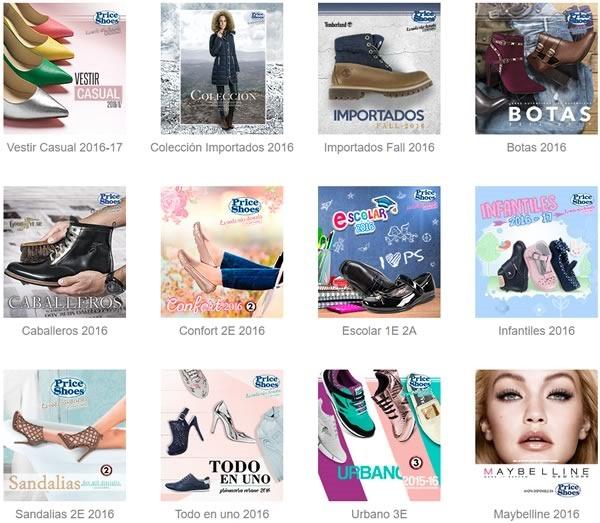 como comprar catalogos price shoes