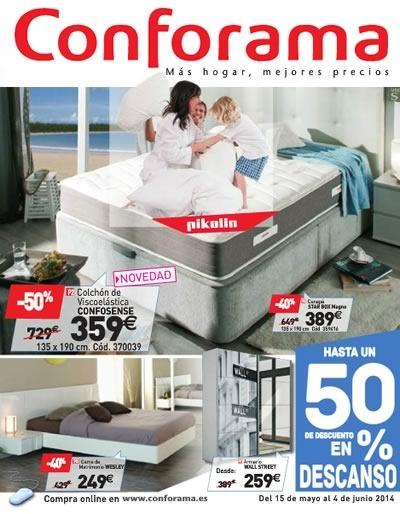 conforama catalogo 15 mayo 4 junio 2014