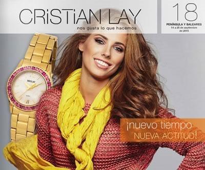 cristian lay espana catalogo 18 de 2015