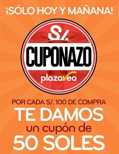 cuponazo plaza vea 6 7 junio 2015