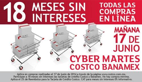 cyber martes costco banamex 17 junio 2014