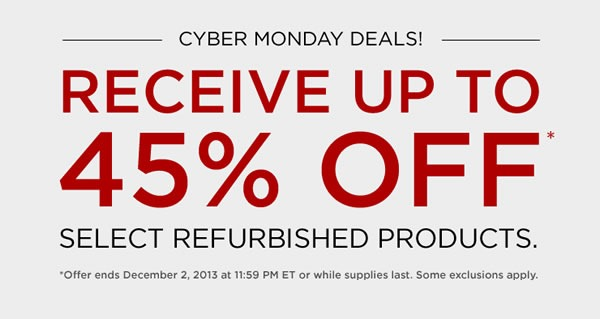 cyber monday 2013 canon usa