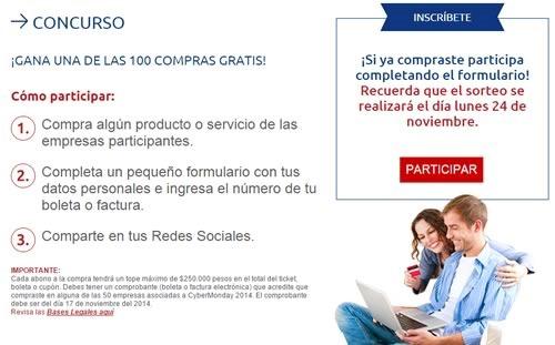 cyber monday 2014 chile - concurso