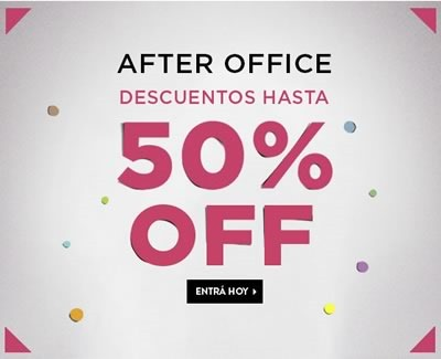 descuentos fotter after office